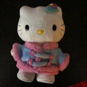 Collectible hello kitty plushie